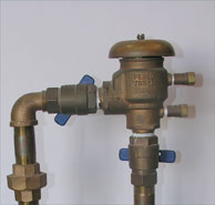Figure 4: Both ball valves and test cocks should be exercised back and forth several times.