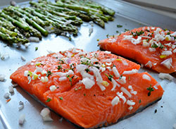 Salmon - photo credit: https://www.flickr.com/photos/grandgrrl/8640517720/