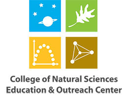 College of Natural Sciences Education & Outreach Center Logo