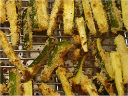 baked zucchini fried