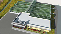 Artists rendering of The New Colorado State University Horticulture Center