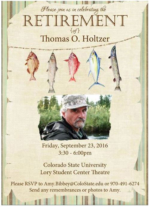 Tom Holtzer retirement