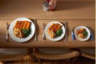 tamaños de plato y porción